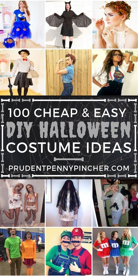 cheap  easy diy halloween costumes prudent penny