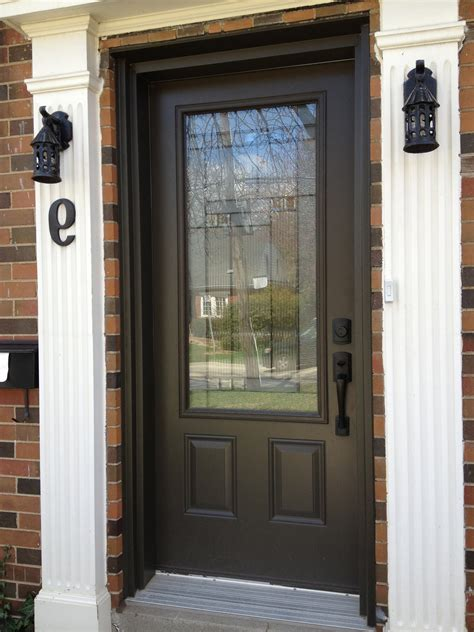 Front Doors Exterior Home Design Contemporary Entry Doors With Sidelights 42 Inch Door Wide Pertaining To Modern