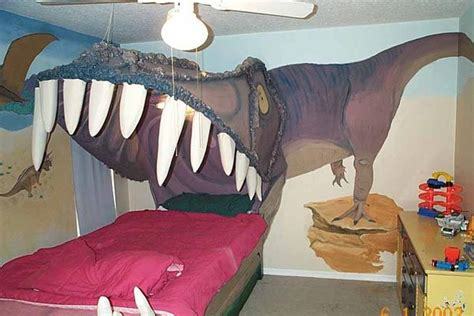 dinosaur bedrooms kids bedroom design idea sleeping within a dino s jaw