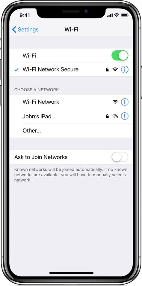 connect  wi fi   iphone ipad  ipod touch