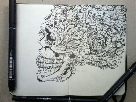 doodle drawing moleskine doodles page 1 by kerbyrosanes on deviantart