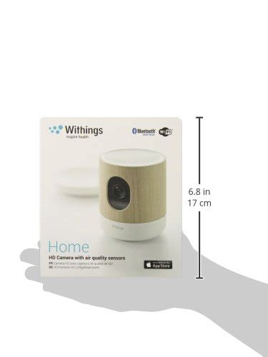 withings home wi fi security and air quality sensor