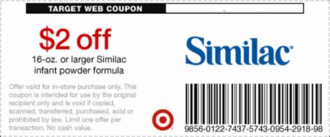 coupons for similac formula printable free