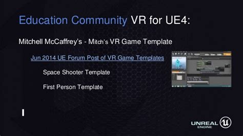 Making Vr Games And Experiences In Unreal Engine Ue4 Vr Template
