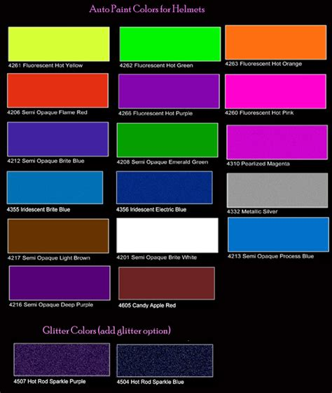 metallic car paint color chart hd cars wallpapers