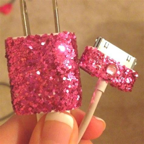 glitter wallpaper diy 17 best images about iphone chargers on pinterest