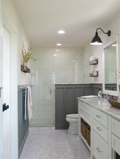 chip joanna gaines best 25 half wall shower ideas on pinterest shower with