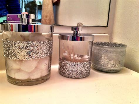 glitter bathroom accessories my glitter bathroom diy