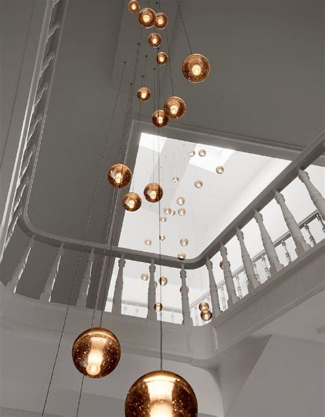 Stairwell Pendant Lights Stairwell Pendant Lights 15 Blown Glass Pendant Lighting Ideas For A Modern And Sleek Glow