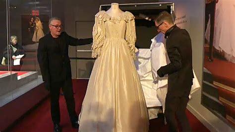 lady diana dresses sneak peek of princess diana s wedding dress ahead of