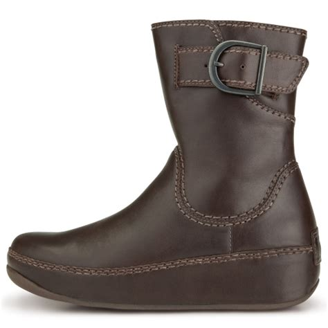 fitflop hooper womens ankle boots chocolate brown