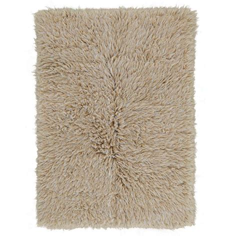 flokati rug buy beige white mix flokati rug 2800g m2 70x140cm the real rug company