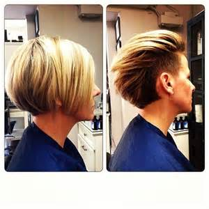hair style and gap between chin and ear lobe undercut wear it tucked behind the ears for a short look