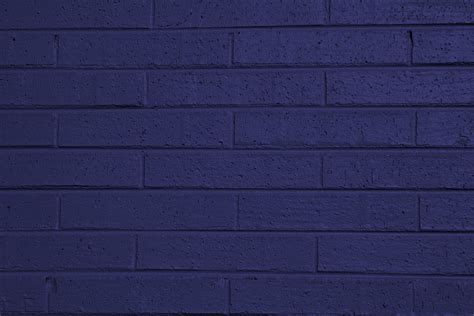 blue painted brick wall texture picture free photograph photos domain