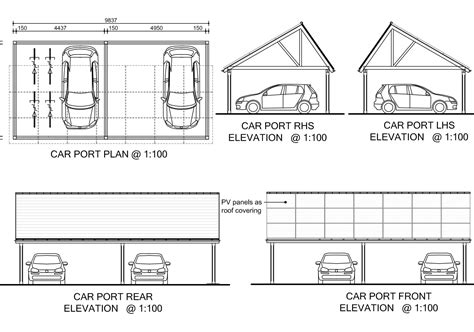 carport blueprints woodwork steel carport building plans pdf plans