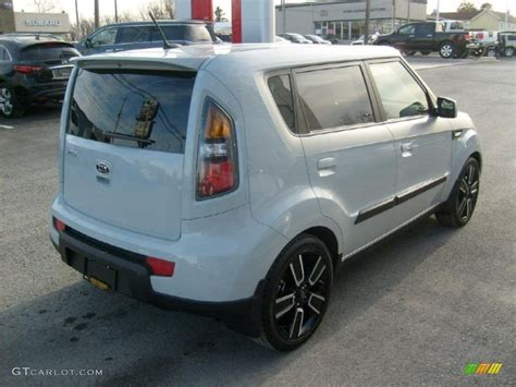 Kia Soul Ghost Clear White 2010 Kia Soul Ghost Special Edition Exterior