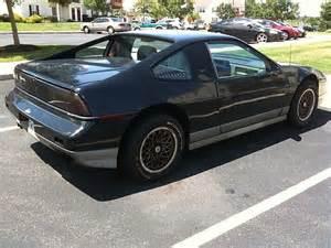 1987 Pontiac Fiero 1987 Pontiac Fiero For Sale Quakertown Pennsylvania