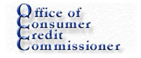 Office Of Consumer Credit Commissioner by Responsible Lending Gold Finance