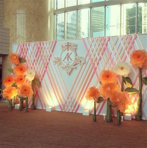 Wedding Backdrop Hk by Hong Kong Four Seasons Hotel Wedding Backdrop Wedding C