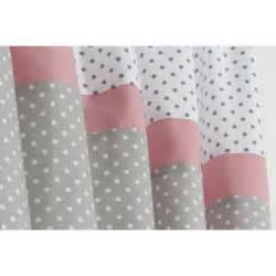 Modern Nursery Bedding Pink And Gray Nursery Curtains