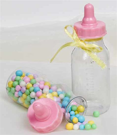 baby shower baby bottles pink baby bottle shower favors it s a theme baby
