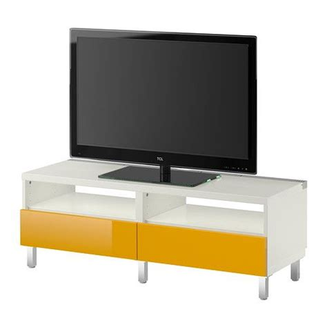 besta cable management best 197 tv bench with drawers white tofta high gloss white
