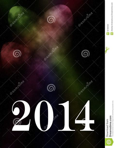 mobile themes new year 2014 2014 card stock photography image 35180452