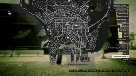 Gta 5 Garage Locations by Gta 5 Grove Garage Gosu Noob Gaming Guides