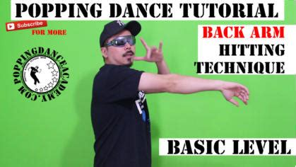 tutorial dance popping popping dance academy tutorials and free lesson