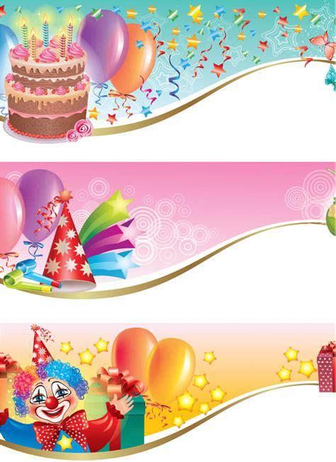 happy birthday design in coreldraw happy birthday banners vector free download vectorpicfree