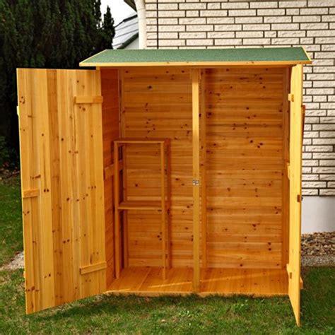 Aufbewahrungsschrank Holz by Gartenschrank Wasserdicht Gro 223 Er Gartenschrank Tchibo