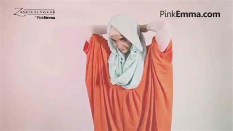 tutorial hijab pashmina zaskia sungkar youtube zaskia sungkar hijab tutorial sweet pastel hoodie youtube