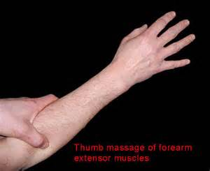 Flexor pain muscle pain free point areas lifting pushing or