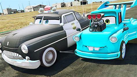 Disney Cars 3 Sheriff disney cars 3 colors sheriff vs modified tokyo mater