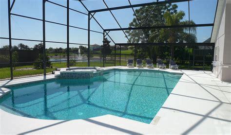 large pool family villa with pool near disney magic kingdom universal studios