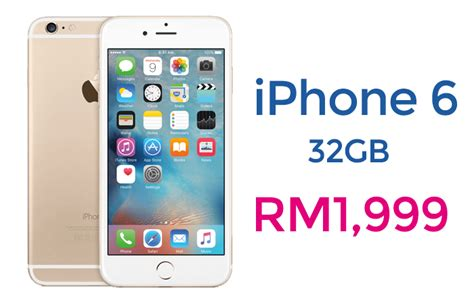 Hp Iphone6 Malaysia iphone 6 32gb officially available at malaysia switch the price only rm1 999 clickuz