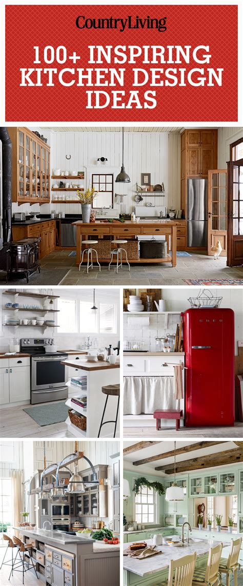 ideas for country kitchen 100 kitchen design ideas pictures of country kitchen