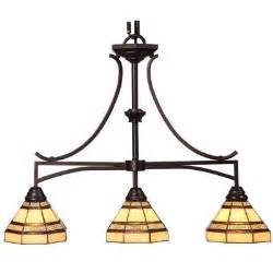 Bronze Island Lighting Hton Bay 3 Light Rubbed Bronze Kitchen Island Light