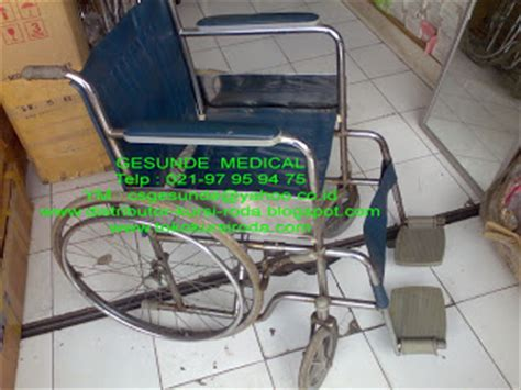 Kursi Roda Murah Di Bandung jual kursi roda standard bekas longchair toko medis