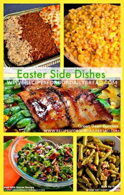 side dishes recipes 34 best images about easter breakfast lunch dinner ideas