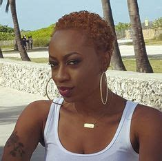 michelle 8 months after the big chop blended beauty chae michelle natural copper colored twa loving the twas