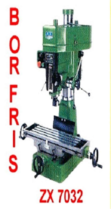 Mesin Bor Radial jual mesin bubut bor friss zx 7032