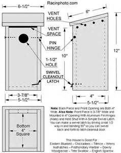 Western Bluebird House Plans Bluebird Houses Someone Help Me On The Right Dimensions For An Eastern Bluebird House