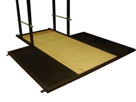 Squat Rack Platform by Look Lifting Platform For Your Gymratz Power Rack
