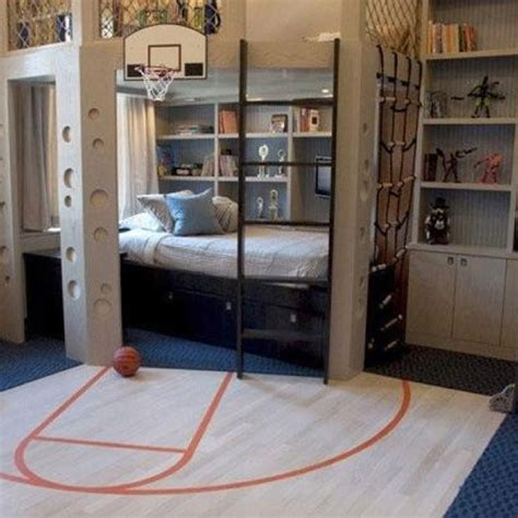 basketball bedrooms boys basketball themed bedroom kid s room pinterest