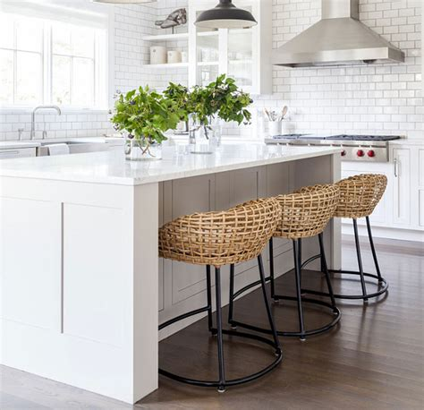 Wicker Kitchen Bar Stools by 29 Wicker And Rattan Pieces For Your Home Most Lovely Things