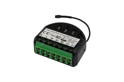 Fibaro Relay Switch 2x1 5kw fibaro relay switch 2x1 5kw