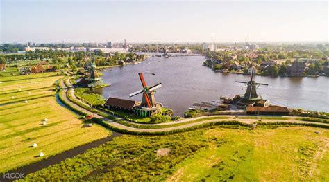 countryside windmills   amsterdam