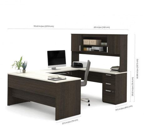 bestar ridgeley u shaped desk | walmart canada