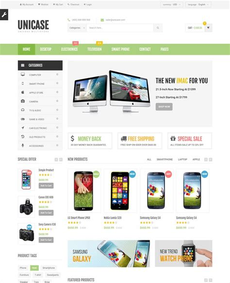 16 highquality electronics website templates free